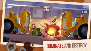 Download Game CATS: Crash Arena Turbo Stars APK Terbaru