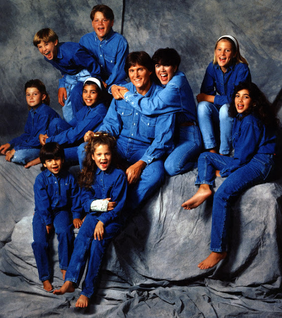 SQUAD GOALS: Never have we seen so much denim in one photo
