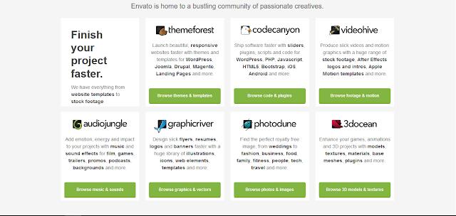 envato marketplace menghasilkan dollar dengan desain grafis