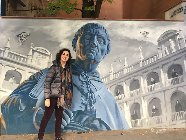 Arte urbano en Alcalá