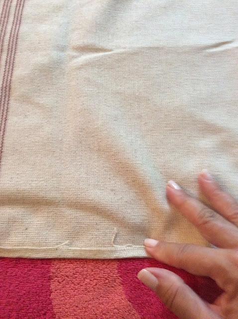 hemming a curtain