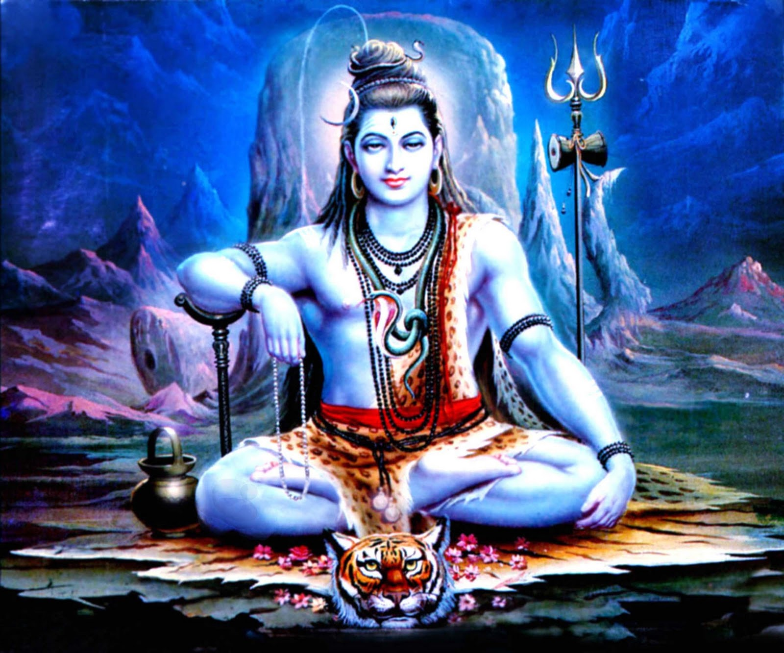 Shiva Wallpaper In Hd: Lord Shiva Wallpaper