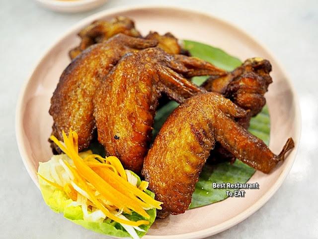 Nguyens Retail Park Vietnamese Restaurant Menu - Fried Chicken Wings