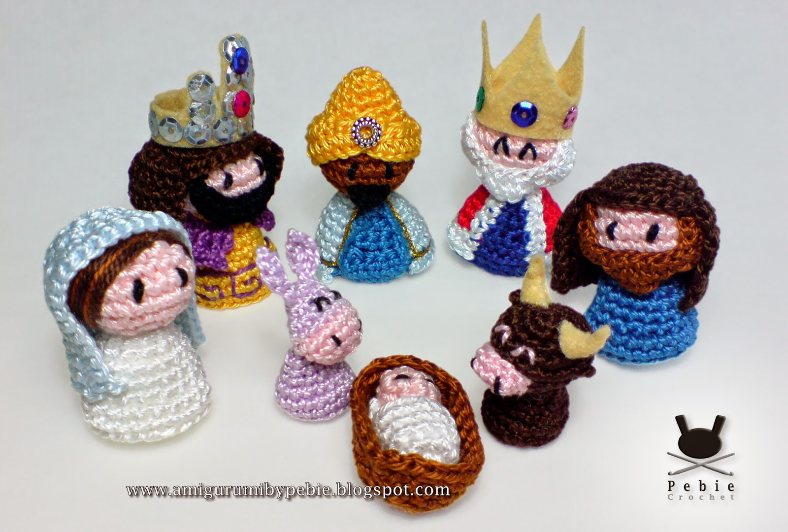 5 Little Monsters: Three Wise Men: Crochet Nativity Add-On | 1080x1600