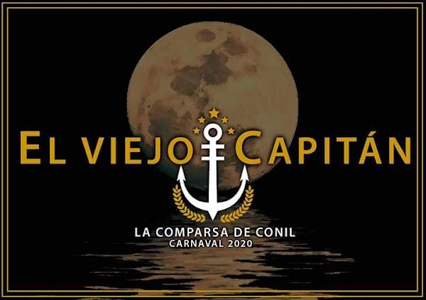 Para el Coac2020 La Comparsa de Conil será El viejo capitán