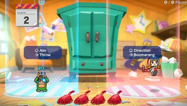 Mona 18-Volt character controls WarioWare Get It Together Nintendo Treehouse Live E3 2021