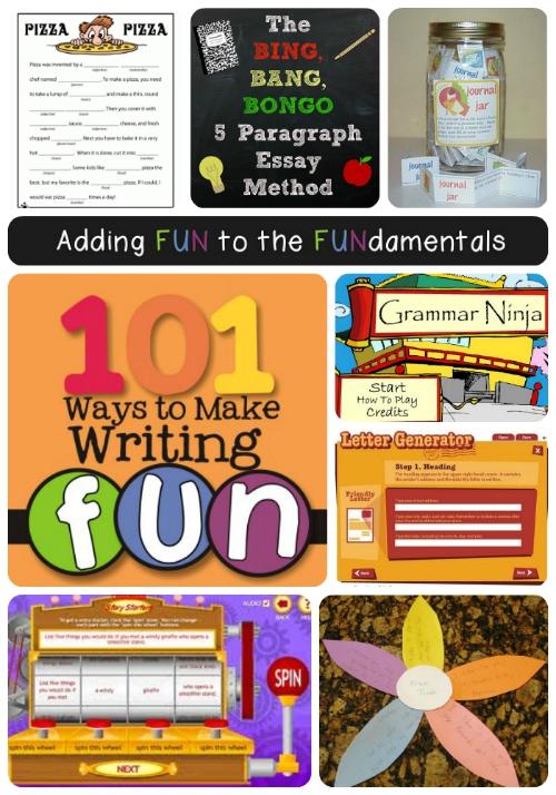 Fun Elementary Writing Tips