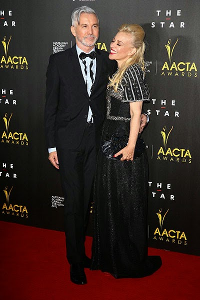 Baz Luhrmann and Catherine Martin in Sydney AACTA