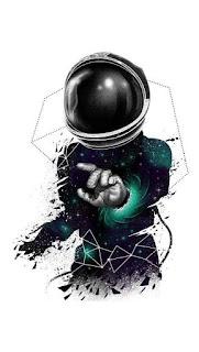 disegno di un astronauta
