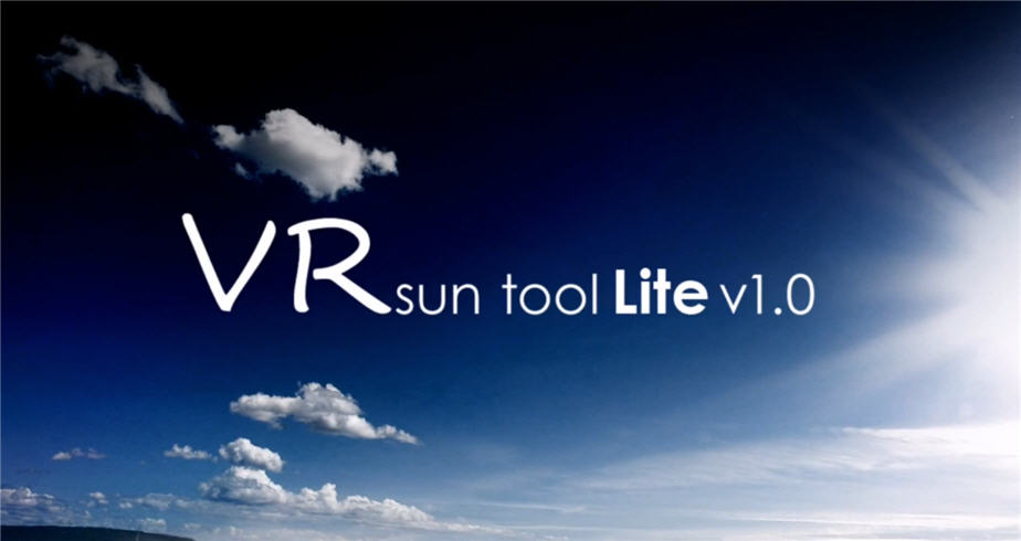 Download VR Sun Tool for 3dsmax | Computer Graphics Daily News