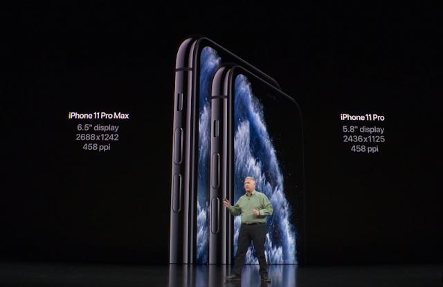 شركة آبل تكشف رسمياً عن iPhone 11 Pro الجديد بعدسة ثلاثية الأبعاد
