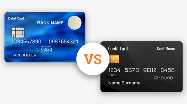 What is the difference between Debit Card and Credit Card