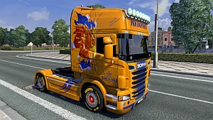Scania R PKM Logistique skin mod by Ghass72