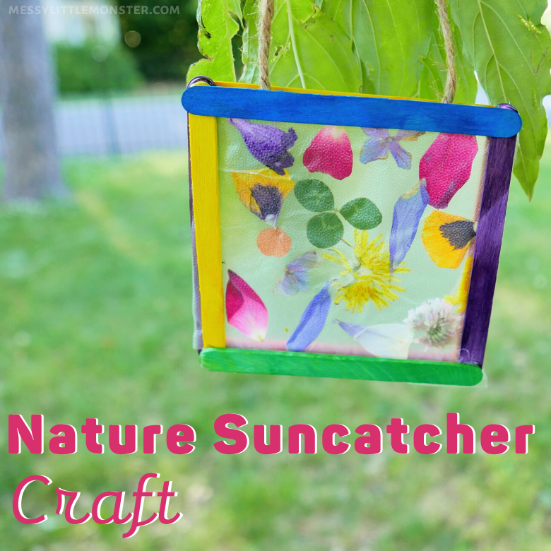 nature suncatcher craft