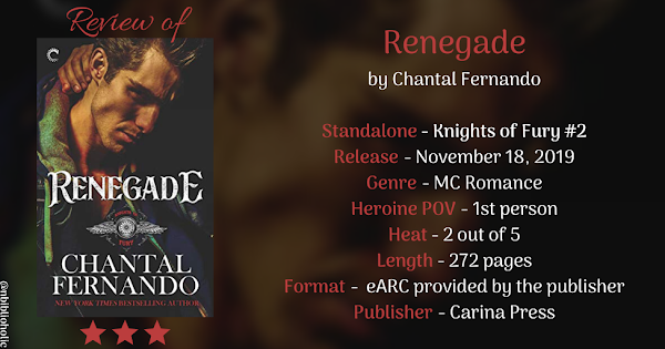 RENEGADE by Chantal Fernando