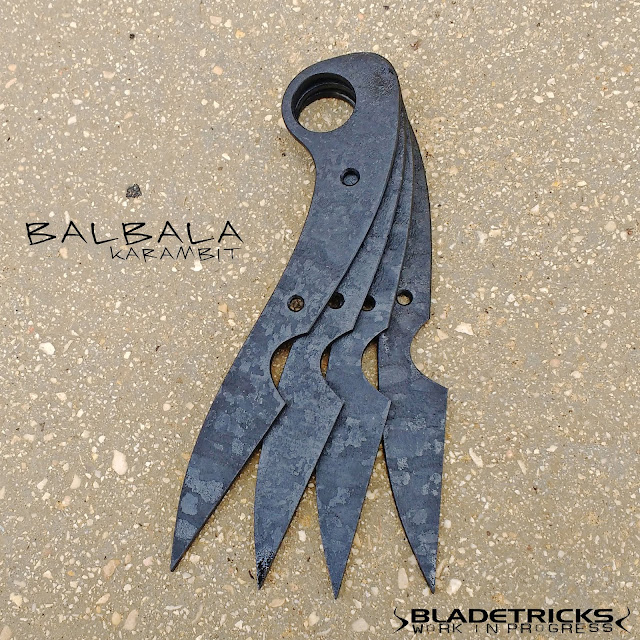 Hand crafted best karambit tactical maker Bladetricks Balbala Pakal knife