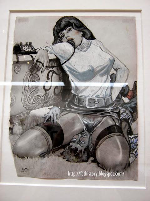 Eric Stanton art - Richard Pérez Seves, Fethistory.blogspot.com