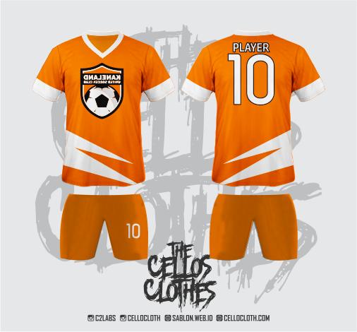 Harga Custom Baju Jersey Futsal Jersey Bola Full Printing Body Depan dan Belakang Full Lengan Rp.135.000 + Gratis Celana.