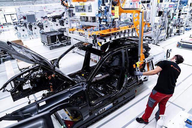 2021 - Audi e-tron GT, come viene prodotta e come viene realizzato l'e-sound