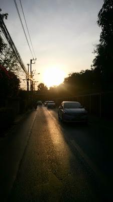 バンコクの早朝