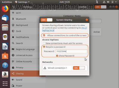 Cara Remote Desktop Ubuntu Dengan Remmina