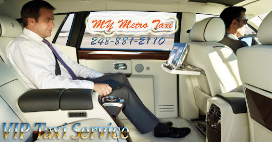 Executive-Business Class Detroit Airport Sedan Service | My Metro Taxi Official Blog
