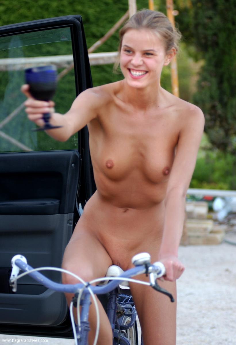 Nude Female Bike Riders
