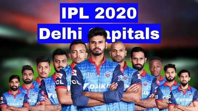 Full players list of DELHI CAPITALS