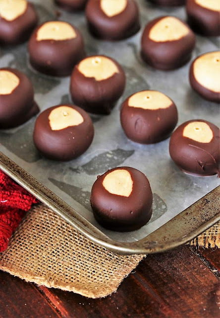 Fix Wooden Pick Hole After Dipping Buckeyes in Chocolate Image