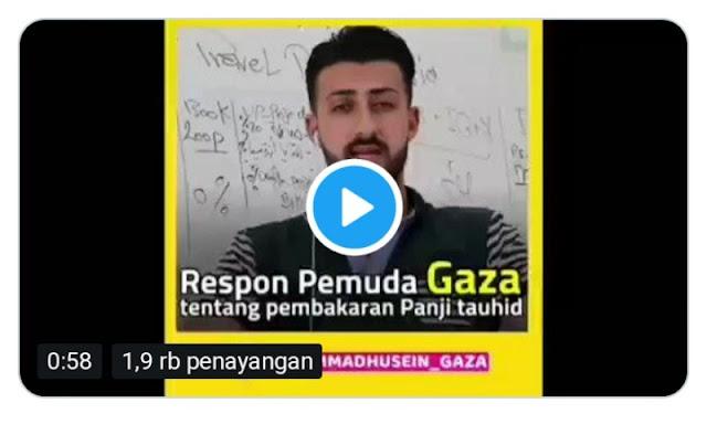 Viral! Video Pemuda Gaza Ini Ingatkan Umat Islam Indonesia Jadi Target Pecah Belah dan Adu Domba