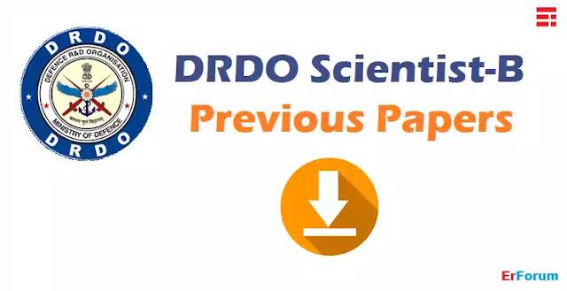 DRDO-RAC-Scientist-B-previous-Papers