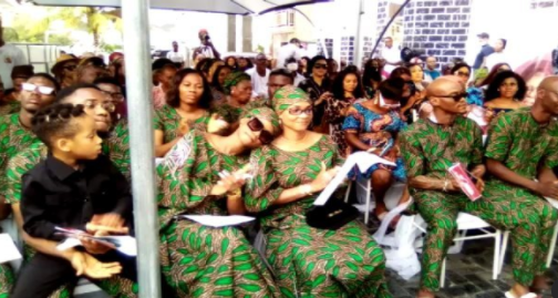 Videos from Iyabo Ojo's mother's wake keep ceremony