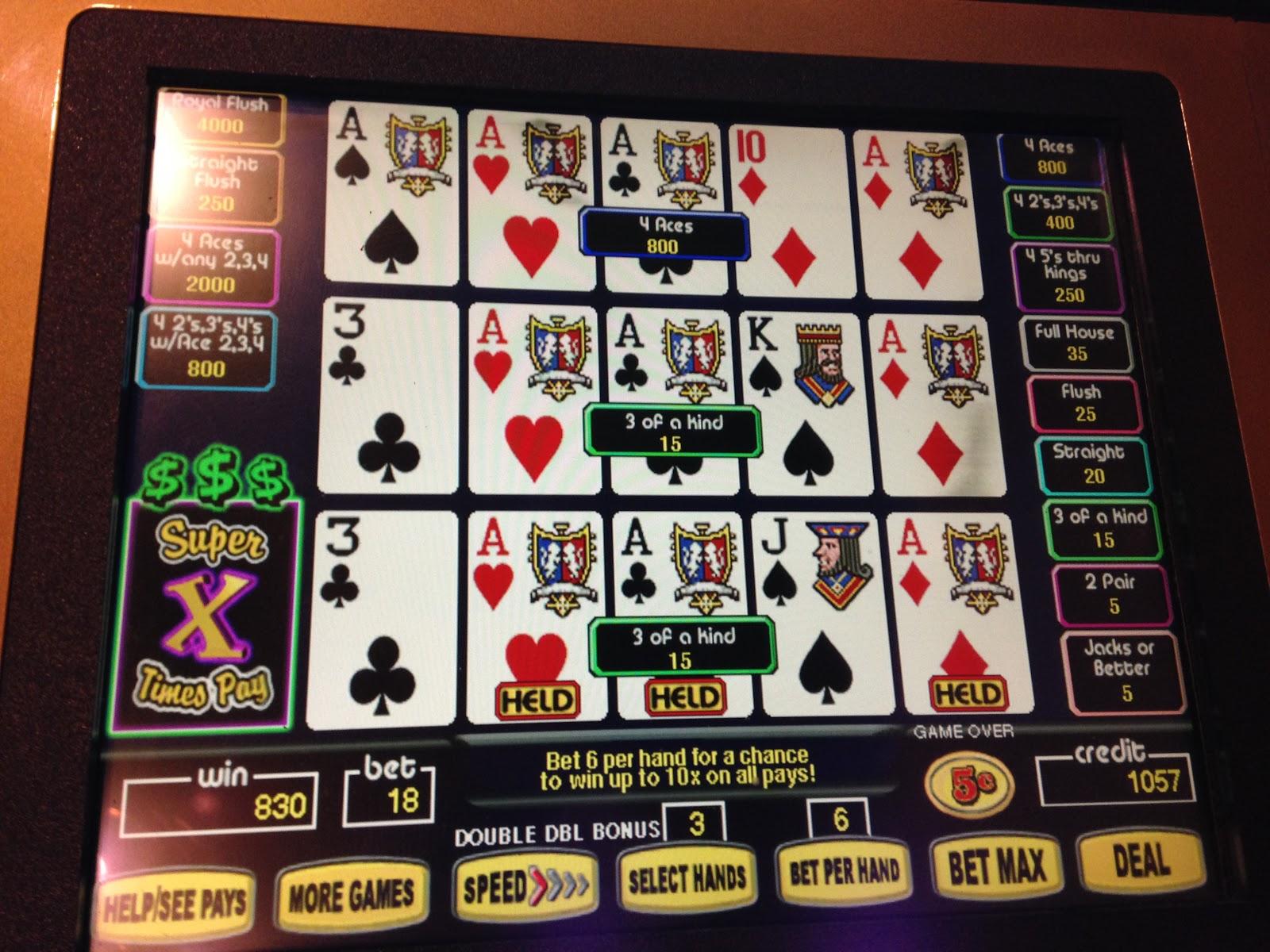 Government gambling revenue
