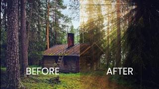 cara membuat sinar di photoshop