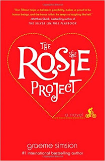 "Adult Book Group Reads ""The Rosie Project"" for January 2nd or 4th, 2019"