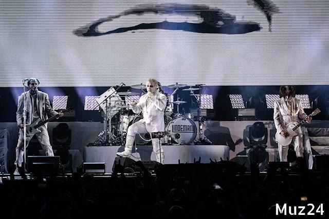 Фотографии с концерта Lindemann на ВТБ Арене