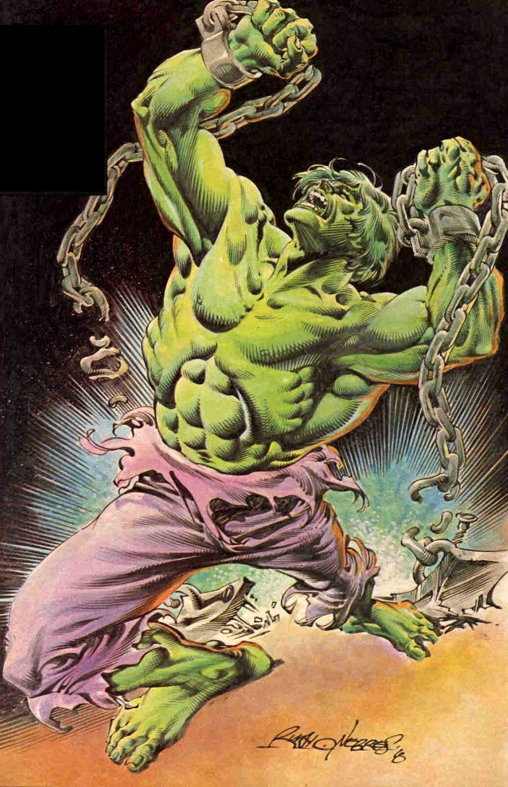 Marvel Comics Of The 1980s 1979 The Incredible Hulk By