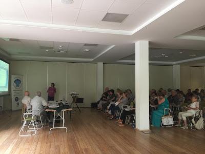 Digitális Jólét bemutató a Nyugdíjas Klubok találkozóján