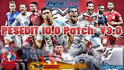 PES 2013: PESEdit 10.0 V3.0 By Minosta [Euro 2016]