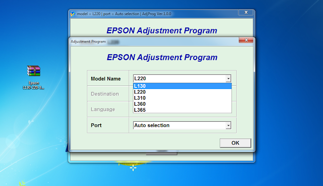 EPSON L220 ADJUSTMENT PROGRAM FREE DOWNLOAD