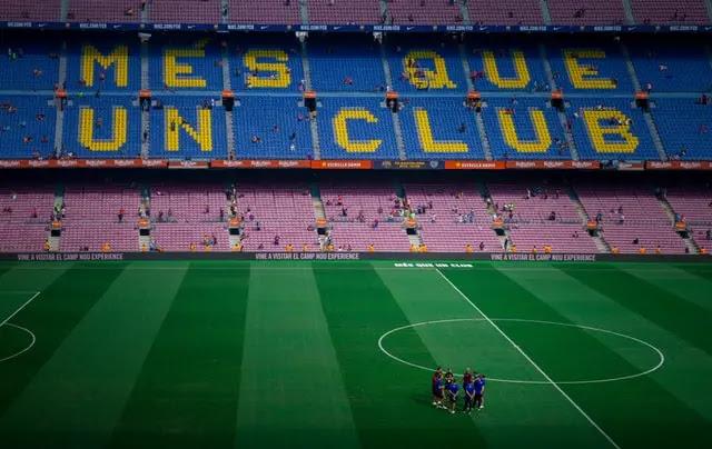 Estadio de fútbol Barcelona