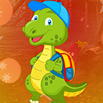 Games4King Dinosaur Escape With Backpack