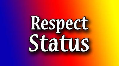 Self Respect Status