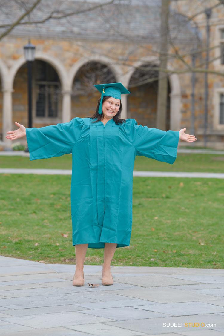 Eastern Michigan University EMU Graduation Portraits on Campus by SudeepStudio.com Ann Arbor Graduation Portrait Photographer