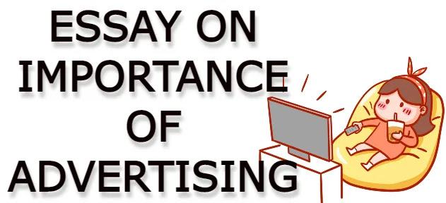 Essay on importance of advertising