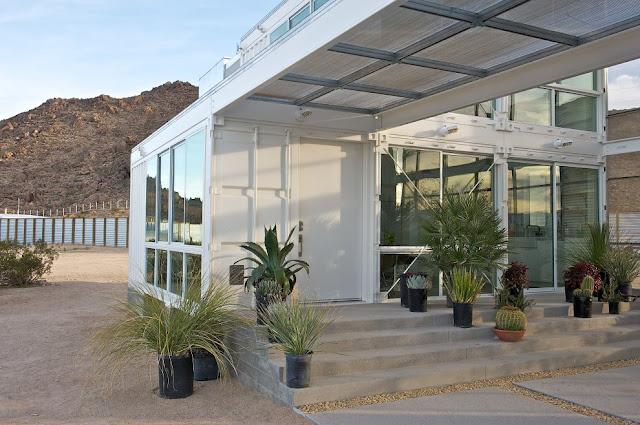 Modular Shipping Container Home in Mojave Desert, California 3