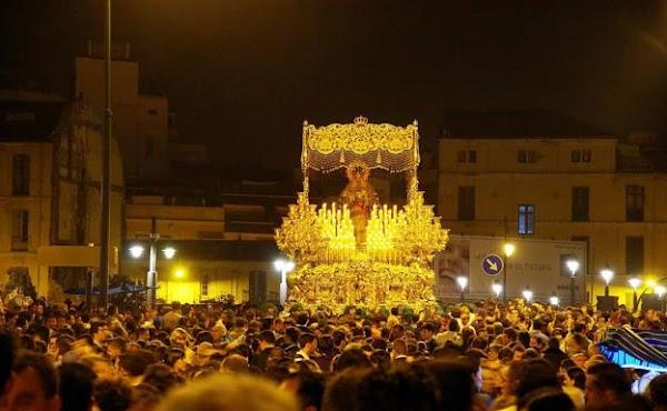 La Esperanza de Málaga tomará el puente de la Aurora camino del recorrido oficial