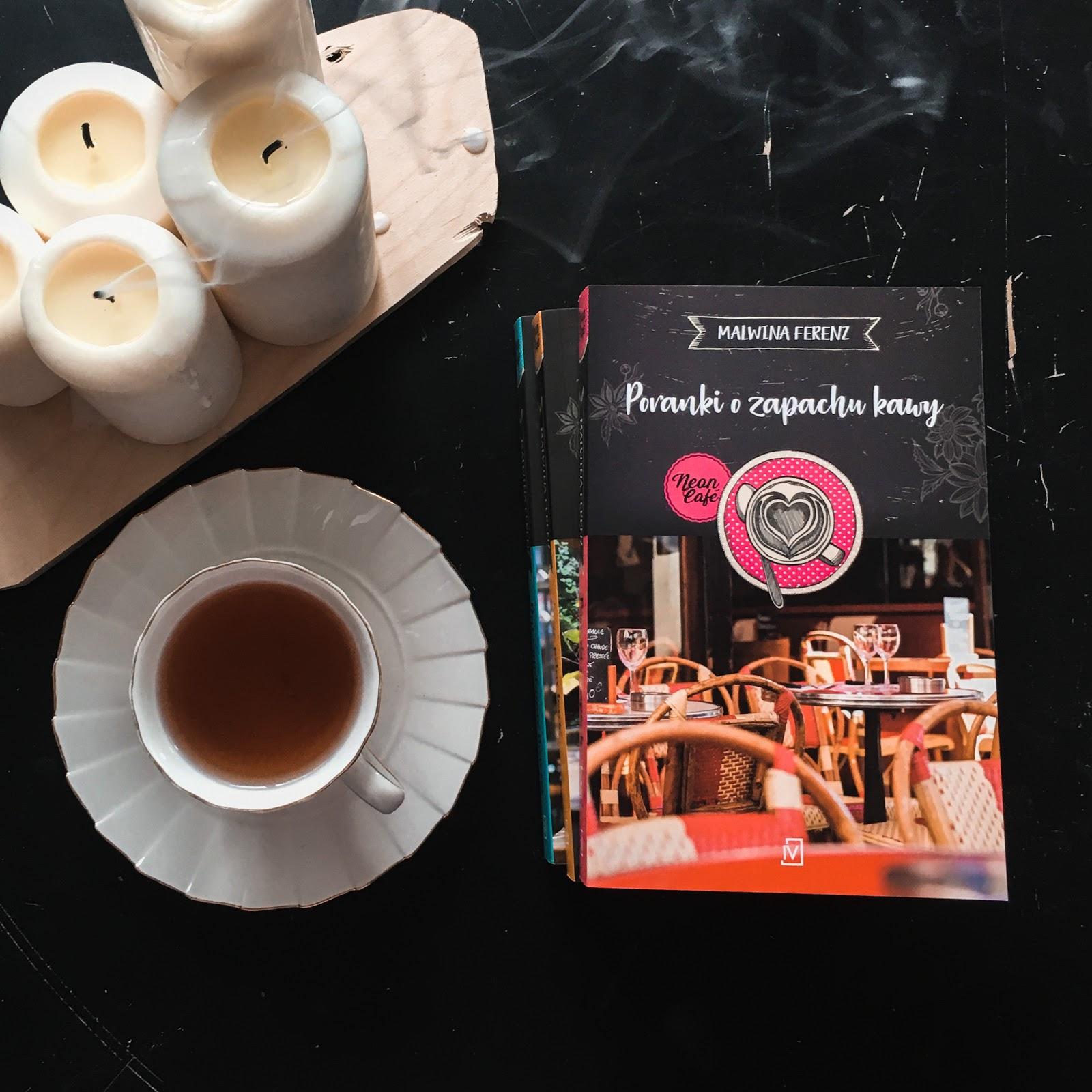 Poranki o zapachy kawy. Neon Café – Malwina Ferenz. Męska rzecz
