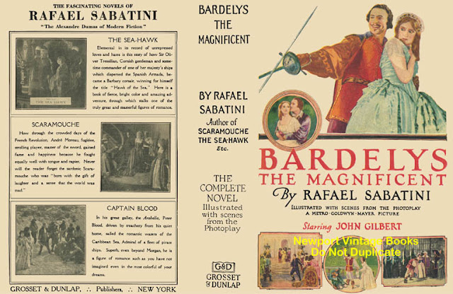 Bardelys The Magnificent movieloversreviews.filminspector.com 1926  Rafael Sabatini