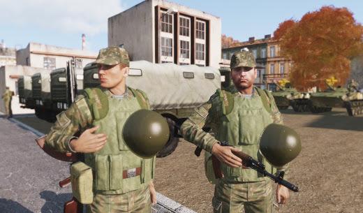 Arma3用ソビエト連邦軍アドオン